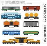 special machinery collection.... | Shutterstock .eps vector #1230436660