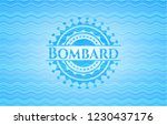 bombard water representation...   Shutterstock .eps vector #1230437176