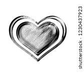 black   white metallic chrome... | Shutterstock . vector #1230437923