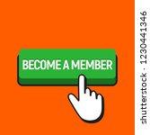 hand mouse cursor clicks the... | Shutterstock . vector #1230441346