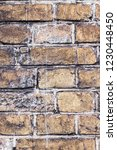 old brick wall | Shutterstock . vector #1230448450