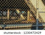 Train On Brooklyn Bridge