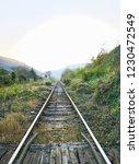 old lonely railway | Shutterstock . vector #1230472549
