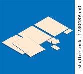 isometric flat vector...   Shutterstock .eps vector #1230489550