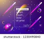 abstract fluid creative... | Shutterstock .eps vector #1230490840