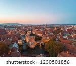 amazing sunset in bamberg ...   Shutterstock . vector #1230501856