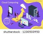 creative isometric vector... | Shutterstock .eps vector #1230503950