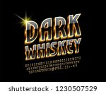 vector luxury logo with text... | Shutterstock .eps vector #1230507529