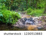 image of water pond at pong nam ... | Shutterstock . vector #1230513883