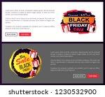 black friday wholesale price... | Shutterstock .eps vector #1230532900