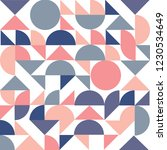 geometry  vector pattern.... | Shutterstock .eps vector #1230534649