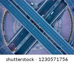 aerial view and top view of... | Shutterstock . vector #1230571756