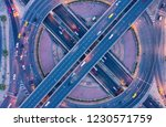 aerial view and top view of... | Shutterstock . vector #1230571759