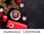 lovely christmas decoration and ... | Shutterstock . vector #1230592336