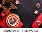 lovely christmas decoration and ... | Shutterstock . vector #1230592666