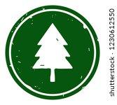 tree icon vector illustration... | Shutterstock .eps vector #1230612550