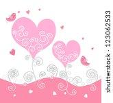 love background | Shutterstock .eps vector #123062533