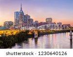 nashville skyline and john... | Shutterstock . vector #1230640126