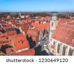 dinkelsbuhl  bavaria  germany | Shutterstock . vector #1230649120