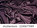 Fabric Satin Silk Purple