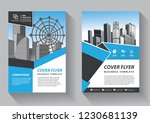 brochure template layout  cover ... | Shutterstock .eps vector #1230681139