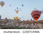 goreme  cappadocia  turkey  ... | Shutterstock . vector #1230715486