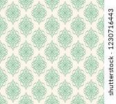 seamless decorative vector... | Shutterstock .eps vector #1230716443