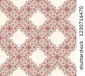 seamless decorative vector... | Shutterstock .eps vector #1230716470