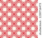 seamless decorative vector... | Shutterstock .eps vector #1230716473