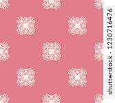seamless decorative vector... | Shutterstock .eps vector #1230716476