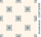 seamless decorative vector... | Shutterstock .eps vector #1230716500