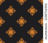seamless decorative vector... | Shutterstock .eps vector #1230716503