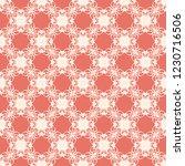 seamless decorative vector... | Shutterstock .eps vector #1230716506