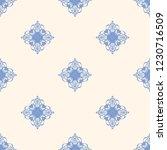 seamless decorative vector... | Shutterstock .eps vector #1230716509