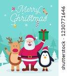 christmas greeting illustration ...   Shutterstock .eps vector #1230771646