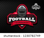 american football tournament... | Shutterstock .eps vector #1230782749