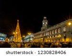 madrid  spain  december 2015 ... | Shutterstock . vector #1230828406
