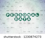 information concept  painted...   Shutterstock . vector #1230874273