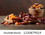 Various Dried Fruits And Nuts...