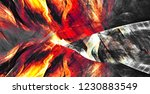 abstract flame background.... | Shutterstock . vector #1230883549
