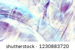 blue abstract painting color... | Shutterstock . vector #1230883720