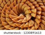 kuih apam kastard kuih seri... | Shutterstock . vector #1230891613