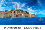 wonderful romantic old town at... | Shutterstock . vector #1230944836