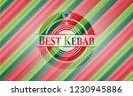 best kebab christmas colors... | Shutterstock .eps vector #1230945886