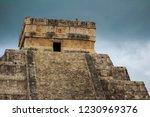 chichen itza yucatan mexico... | Shutterstock . vector #1230969376