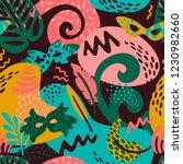 brazil carnival. vector... | Shutterstock .eps vector #1230982660