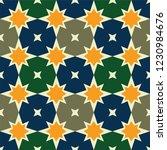 seamless arabic pattern. vector ...   Shutterstock .eps vector #1230984676