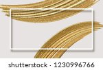 white abstract banner with... | Shutterstock .eps vector #1230996766