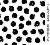 irregular dots brush strokes... | Shutterstock .eps vector #1231002943