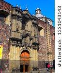 mexico city  san lorenzo deacon ... | Shutterstock . vector #1231043143